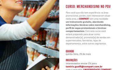 COMPART INVESTE EM QUALIFICAÇÃO DE MÃO DE OBRA