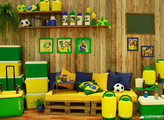Copa do mundo estimula consumidor e aumenta demanda do comércio varejista.